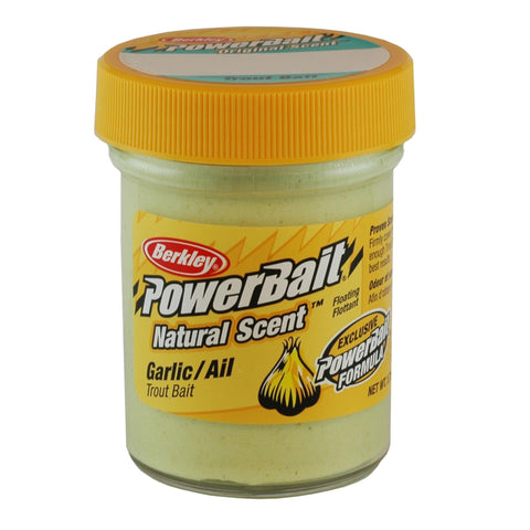PowerBait Trout Dough Bait - Garlic Scent-Flavor