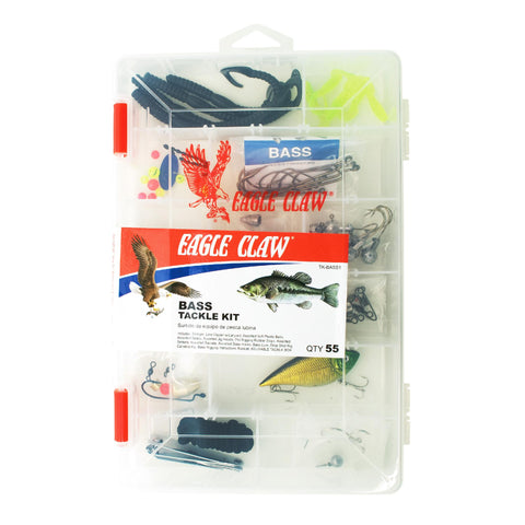 Bass Tackle Kit 55 Pieces