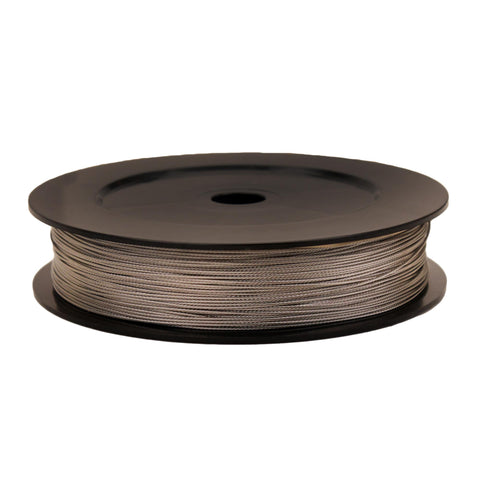 Premium Stainless Steel Replacement Downrigger Cable - 400 Foot Spool