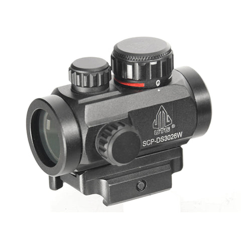 UTG ITA R-G CQB Dot Sight w-QD Mount - 2.6""