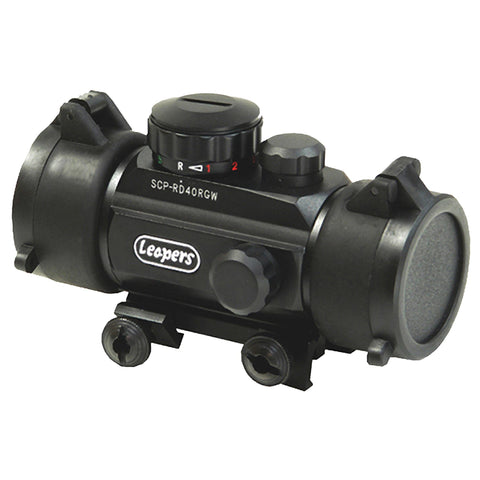 "UTG 3.8"" Red-Green Dot Sight w-Integral Mount"