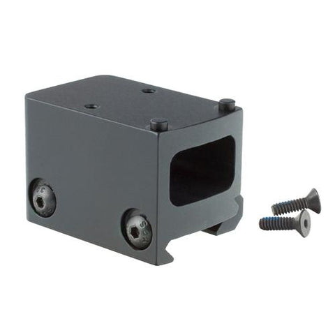 Lightweight Picatinny Rail Mount Adapter RMR 1-3 Lower Co-Witness, Black