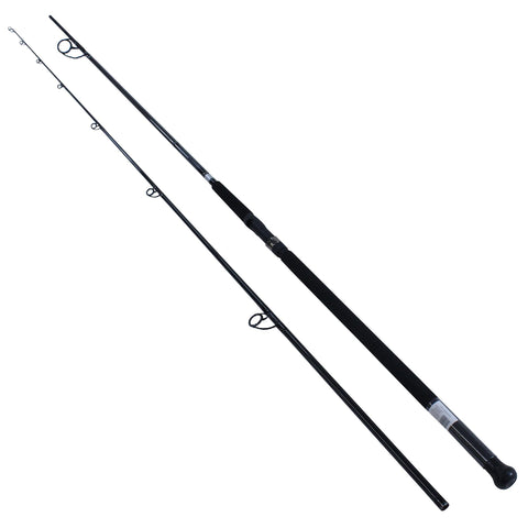 Emcast Surf Spinning Rod - 12' 2 Piece Rod, 15-30 lb Line Rate, 3-6 oz Lure Rate, Medium-Heavy Power