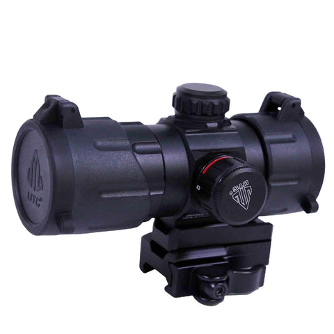 "UTG 4.2"" ITA Red-Green T-Dot with QD Mount, Riser Adaptor"