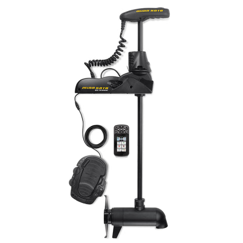 "Ulterra 112 Trolling Motor - 72"" Shaft Length, 112 lbs Thrust, 36 Volts with i-Pilot Link and Bluetooth"