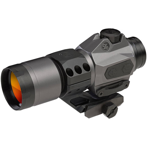 Romeo6H 1x30mm Red Dot Sight - Circle Plex Reticle, Graphite