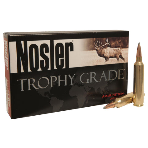 33 Nosler - Trophy Grade Ammunition, 265 Grains, AccuBond Long Range, Per 20