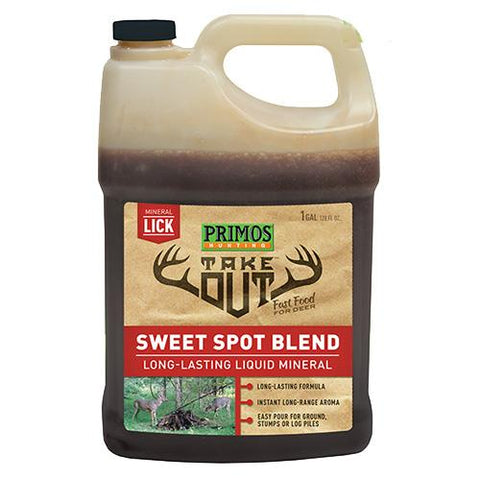 Take Out - Liquid Sweet Spot Deer Attractant Liquid, 1 Gallon