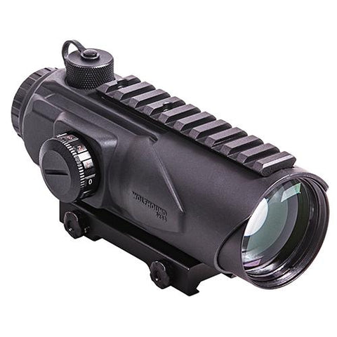 Wolfhound Prismatic Sight - 6x44mm, LR-308 LQD, Black