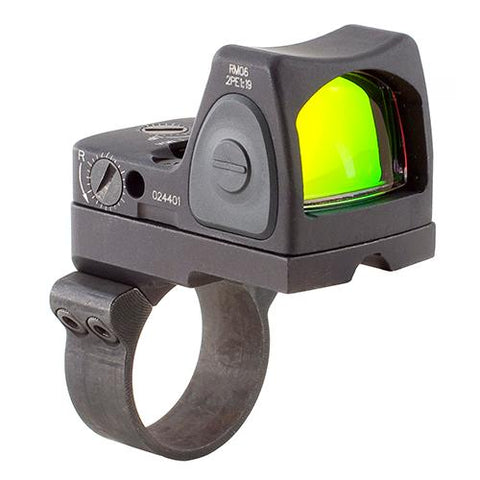 RMR Type 2 Adjustable LED Sight - 3.25 MOA Red Dot Reticle with RM36 ACOG Mount, Black