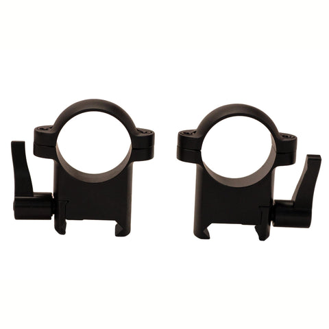 "1"" Zee Quick Detach Rings - High"