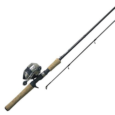 "33 Cork Spincast 2 Piece Combo - 3.6:1 Gear Ratio, 19"" Retrieve Rate, 6'6"" Length 8-12 ln Line Rate, Ambidextrous"