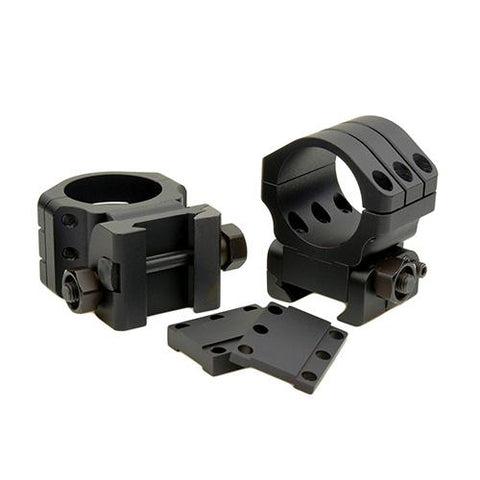 Angle Eye 90 MOA Adjustable Picatinny-Style Rings - 30mm, Matte Black