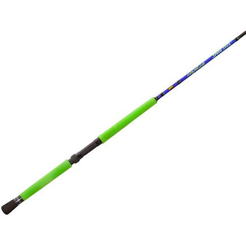 Wally Marshall Speed Stick Spinning Rod - 9' Length, 2 Piece. 4-12 lb Line Rate, 1-8-1-4 oz Lure Rate, Medium-Light Power