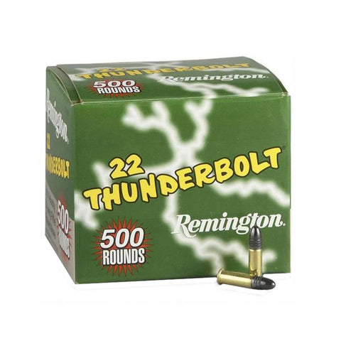 .22 Long Rifle (LR) - Rimfire, 40 Grains, Round Nose, Per 500