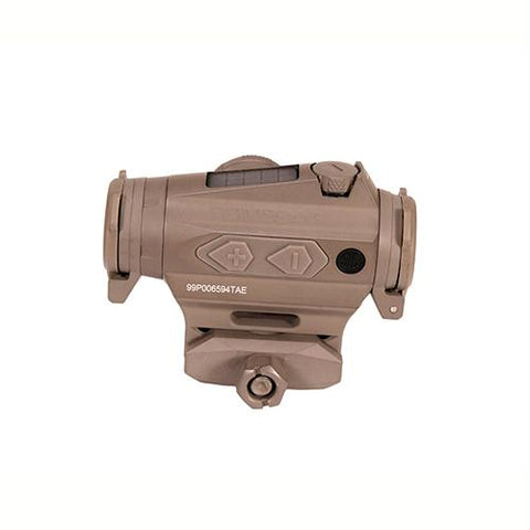 Romeo4T Compact Red-Dot Sight - 1x20mm, 0.5 MOA Ballistic Circle Dot Reticle, Flat Dark Earth