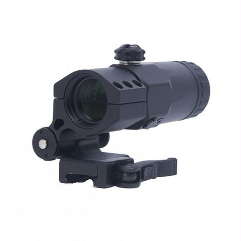 3x Magnifier - Reflex-Red Dot Sights with Built-In Flip Mount
