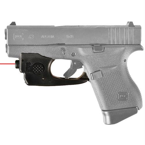 Trigger Guard Mounted Red Laser - Glock 43