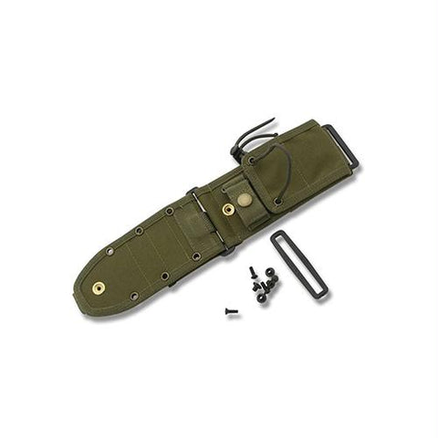 MOLLE Back Sheath for ESEE-5, ESEE-6, Laser Strike - Olive Drab