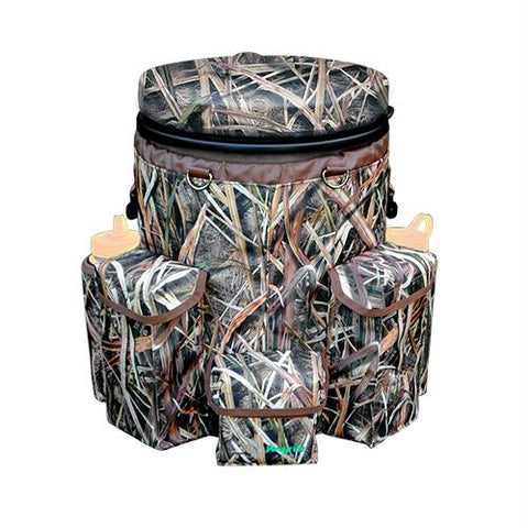 Venture Bucket Pack - Spin Seat, Mossy Oak Shadow Grass Blades