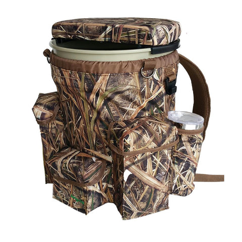 Venture Bucket Pack - 3-4 Seat, Mossy Oak Shadow Grass Blades