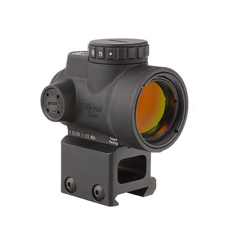 Miniature Rifle Optic (MRO) Sight - 2.0 MOA Adjustable Green Dot with Lower 1-3 Co-Witness Mount, Matte Black