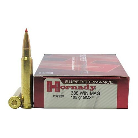 338 Winchester Magnum - Superformance, 185gr GMX, Per 20