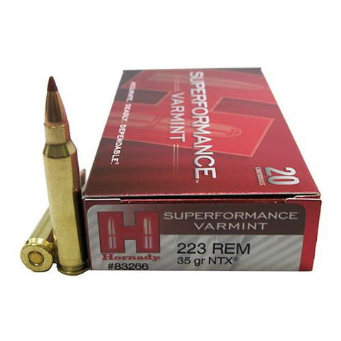 223 Remington - 35 Gr NTX Superformance Varmint-20