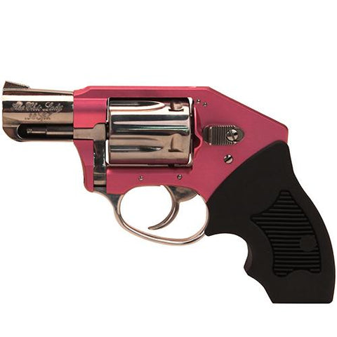 "38 Undercover Lite - Chic Lady, 5 Round, 2"" Barrel, DAO, Pink-Hi-Polish Stainless"
