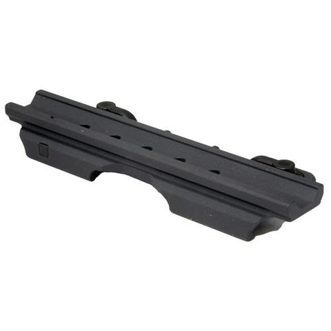 A.R.M.S. Mount - Throw Lever Adapter for Picatinny Rails, Black