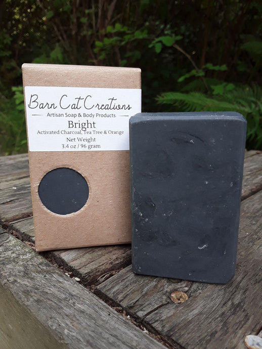 Bright Charcoal Soap
