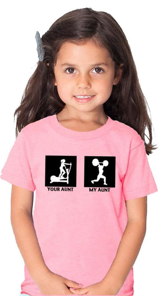 My Aunt Children's Tshirt Pink