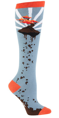 SALE - Flying Bonsai Knee Socks