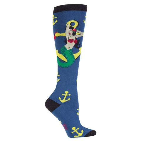 SALE - Hey Sailor Knee Socks