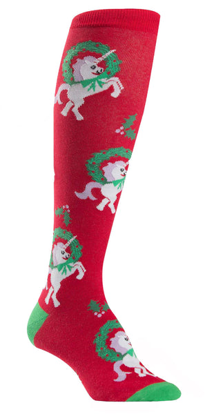 Horn For The Holidays Knee Socks
