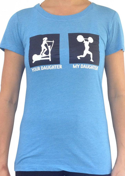 My Daughter, Your Daughter Teal Tri Blend Crew Neck