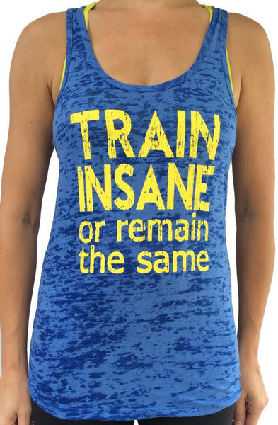 Royal Blue Train Insane Burnout Tank