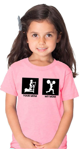 My Mom Children's T-shirt Pink
