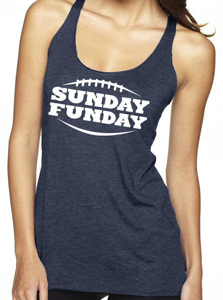 Sunday Funday Tri Blend Tank Top
