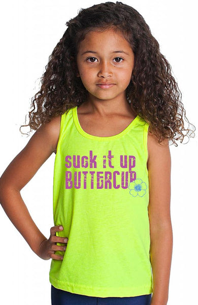 Youth Suck It Up Buttercup Tank