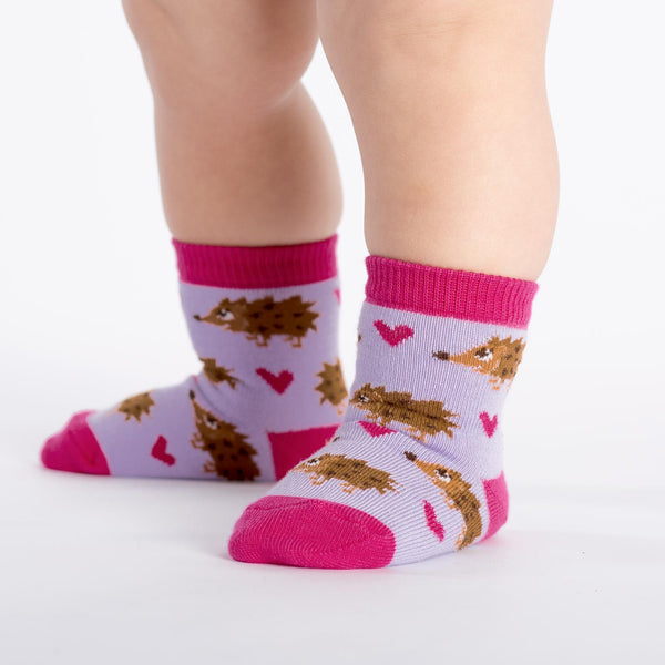 Toddler Hedgehog Heaven Crew Socks