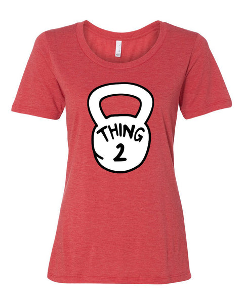 Thing 1-4 Red Women's Tshirt
