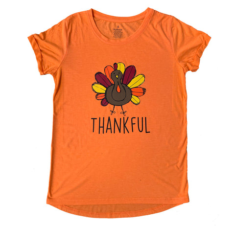 Women's Thankful Orange Tunic