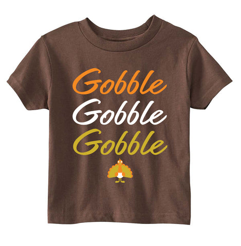 Kids/Youth Thanksgiving Gobble Tshirt