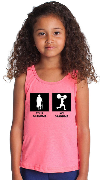 Sale - My Grandma Youth Tank Top