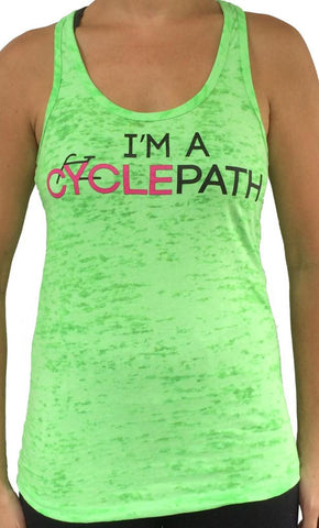 Cyclepath Burnout Tank Top