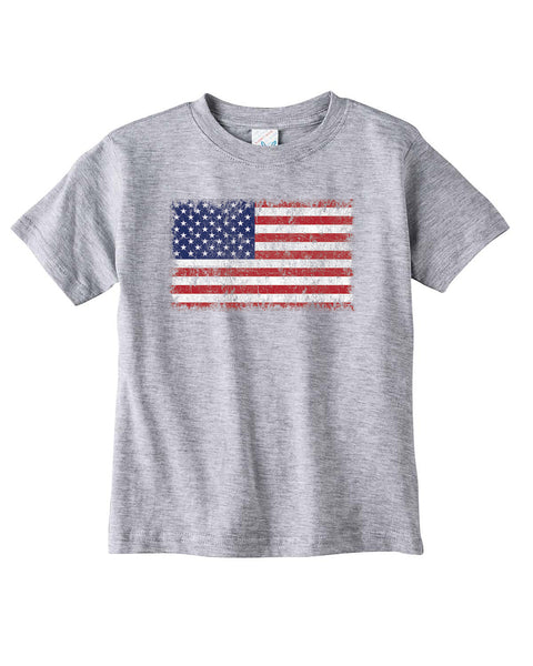 Kids Distressed Flag Tshirt