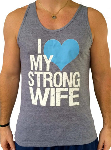 Mens Strong Wife Tank Top