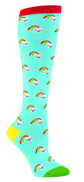 Kawaii Not Rainbow Knee Socks