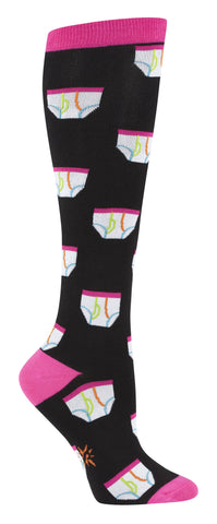 SALE - Tighty Whities Underwear Knee Socks